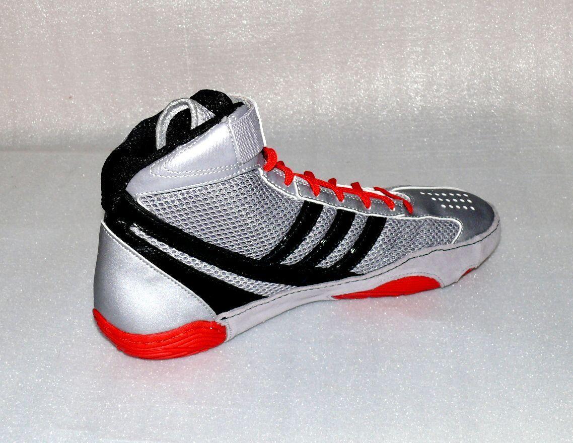 Adidas Performance Response 3.1 Herren Wrestling Schuhe Sport Silber ROT 46 2/3