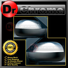 07-13 Chevy Silverado+Avalanche Triple Chrome Mirror Cover Top Half piece 1 Pair
