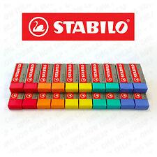Stabilo Legend Coloured Mars Erasers Plastic Rubber Erasers Pack Of 20 Erasers