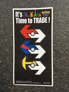 Great Ball Pokemon Go It/'s Time To Trade Sticker
