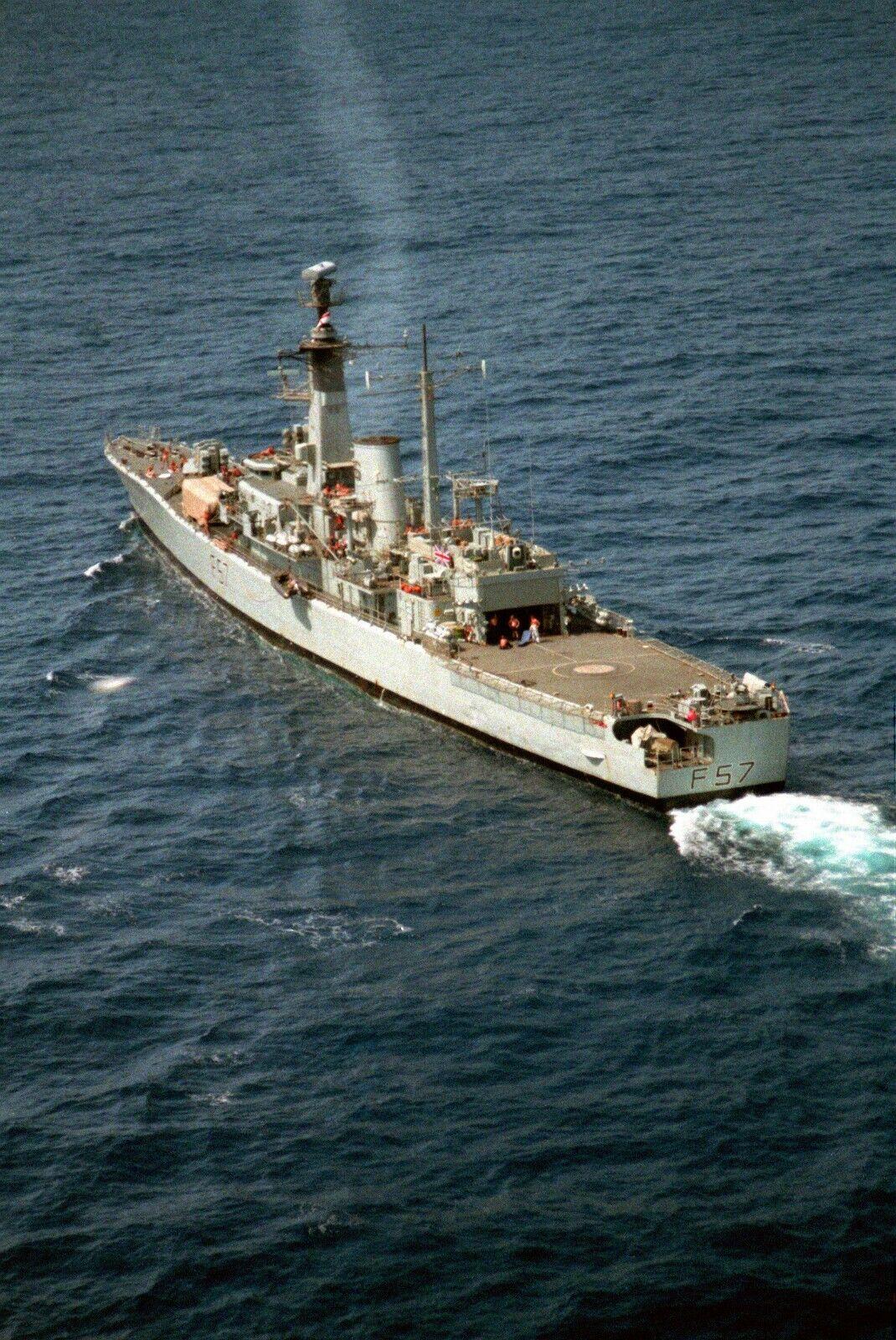 HMS ANDROMEDA (F-57)  Military Photo print