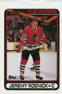 JEREMY-ROENICK-1990-91-Topps-ROOKIE-CARD-RC-7-Chicago-Blackhawks