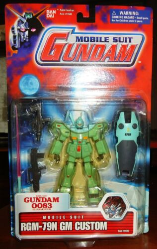 NEW Bandai Mobile Suit Gundam 0083 Stardust Memory RGM-79N GM Custom