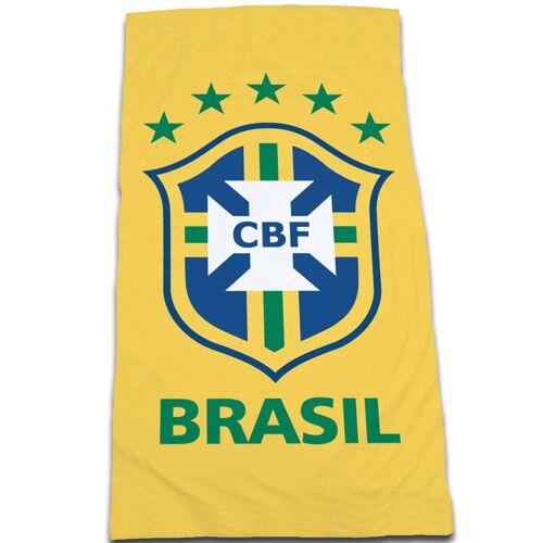 Offiziell Brasilien Fußball Strand Handtuch 100/% Cotton Weltcup 2014
