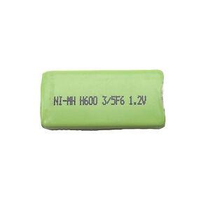 1 x 5/3 F6 600mAh 1.2V NiMH NH14WM-BC Gumstick Rechargeable Battery CD MD