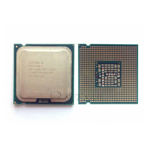 Intel BX80553945 Pentium D Processor 945 800 MHz LGA775 Dual Core 3.40 GHZ