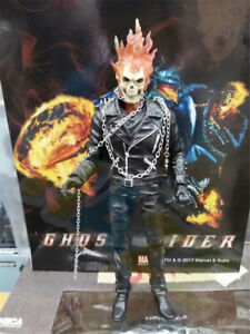 Ghost-Rider-Johnny-Blaze-23cm-9-034-PVC-Action-Figure-Statue-Model-Toy-Collection
