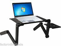 Adjustable Vented Foldable Laptop Notebook Pc Table Desk Portable Tray Aluminum on sale
