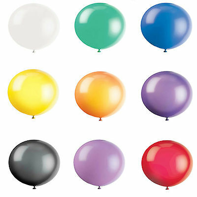 "3FT GIANT LATEX 36"" BALLOONS OUTDOOR BIRHTDAY PARTY WEDDING EVENTS 10 COLOURS"