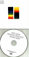HOT CHIP How Do you Do w/ RARE RADIO EDIT 2012 Card Sleeve UK PROMO DJ CD single
