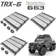 Luggage Rack Roof Spotlight für TRAXXAS TRX-4 TRX-6 6X6 G63 G500 RC Auto #DE