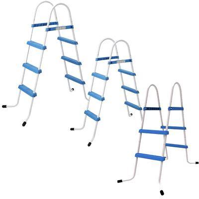 Jilong 2 or 3 Step Pool Ladder Above Ground Swimming Pools Safe Rung Ladder  | eBay