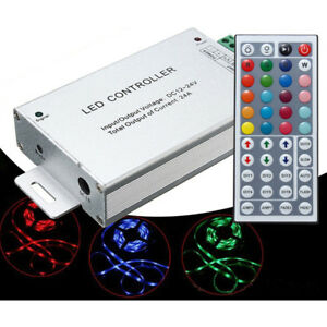 24A-288W-44-Key-IR-Remote-Controller-DC12-24V-Lamp-Light-Strip-LED-SMD5050-3528