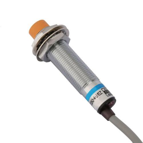 Nickel Plated Brass LJ12A3-4-J//EZ AC NO Inductive Proximity Sensor Switch 4mm
