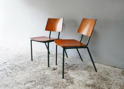1970's Danish mid century stacking chairs by MH Stalmobler a/s