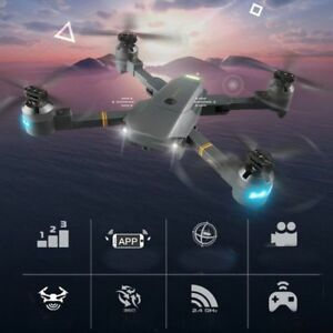 Details about Phone Control Foldable Selfie Drones Tracker Drones Toys with  Wifi FPV HD Camera