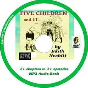 Five-Children-It-Audio-Book-MP3-CD-by-E-NESBIT-11-episodes
