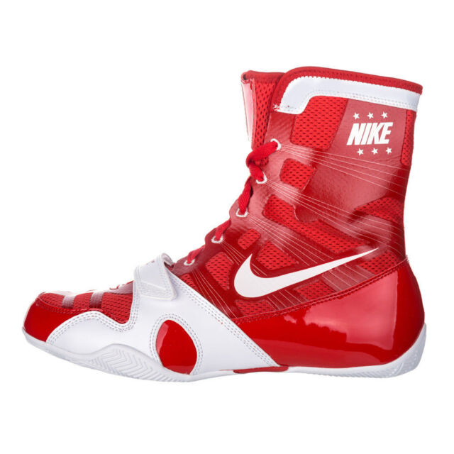 Nike HyperKO WhiteRoyalRed Boxing Shoes