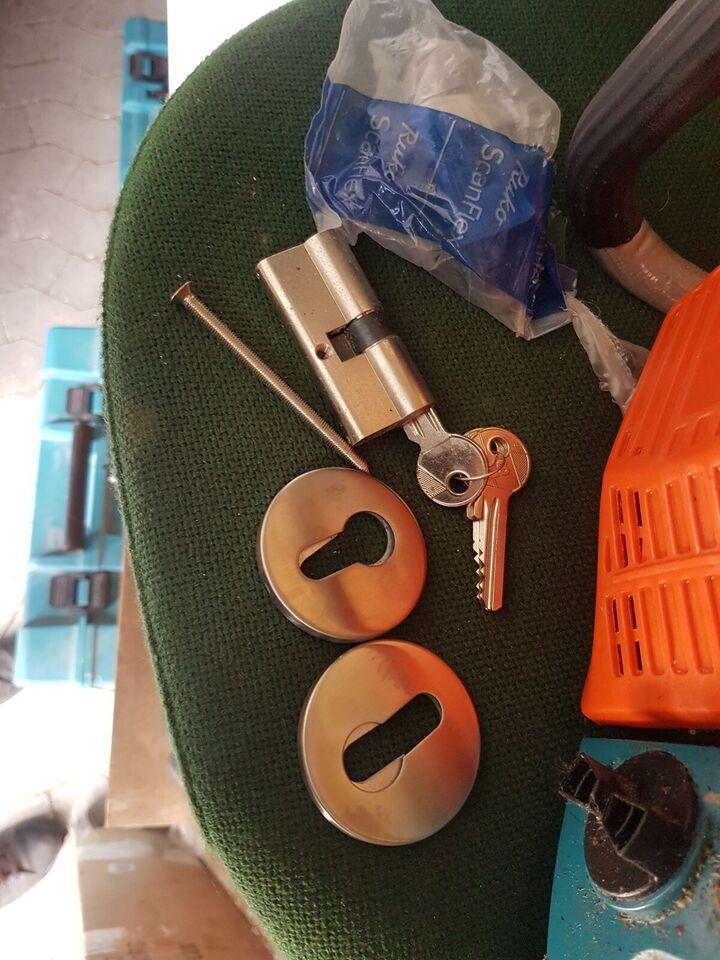 CES dråbe cylinder med låse blik