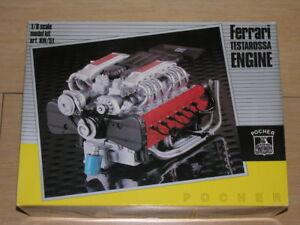 1-8-Scale-Pocher-Rivarossi-Engine-Kit-Ferrari-Testarossa-KM-51-Complete-L-K