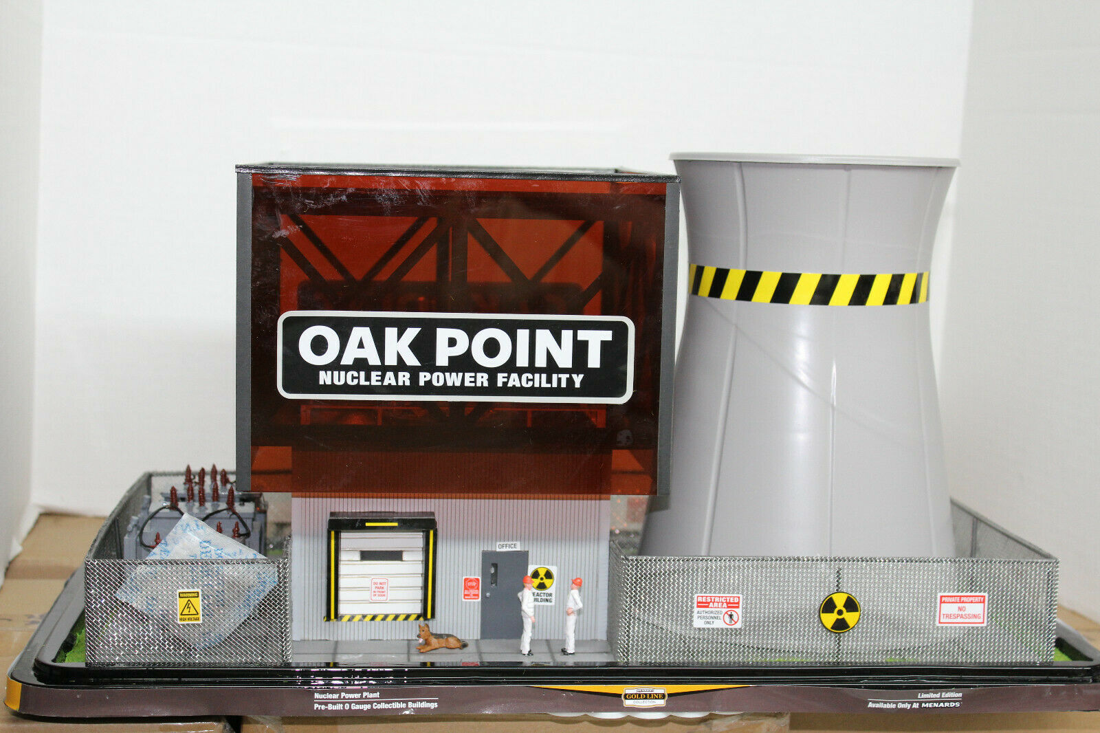 SieARDS O SCALE Oak Point Nuclear Power Facility