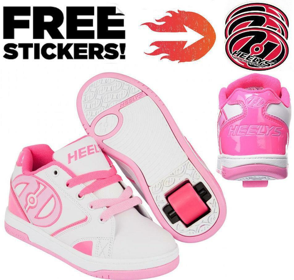 HEELYS PROPEL 2.0  BABY PINK GIRLS ROLLER SKATING BOOTS SHOES  be in great demand