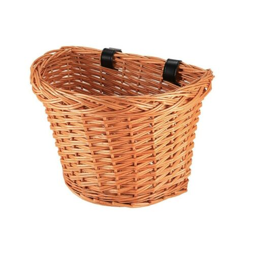 Large Wicker Bike Bicycle Basket Shopping Basket Cycle Shopping With Handle