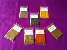 7 Spices 20g Bags REFILL For Indian Masala Dabba Spice Tin--- Dabba NOT Included