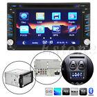 "2 DIN 6.2"" In-Dash Bluetooth Car Stereo DVD Video Player FM Radio GPS USB/SD New"