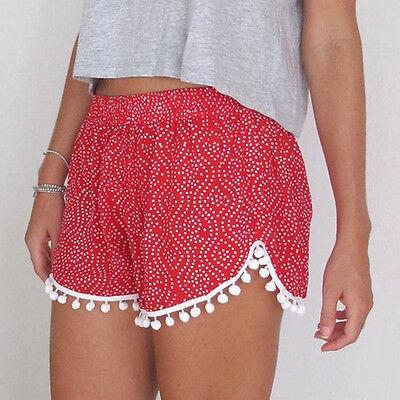 Mujer Pantalón Talle Alto Pantalón Shorts Verano Shorts Playeros