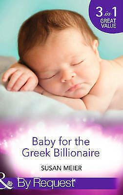 """""""AS NEW"""" Baby for the Greek Billionaire: The Baby Project / Second Chance Baby /"""