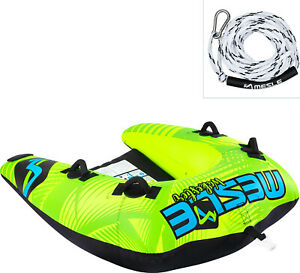 MESLE Tube Package Wakester mit 2P Leine, Fun-Towable, Wasser-Sport, Schleppring