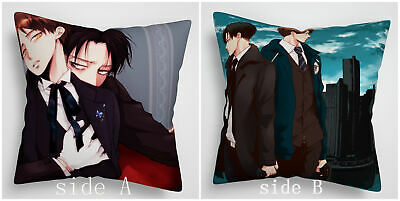 Azur Lane Akagi Kaga Anime Manga two sides Pillow Cushion Case Cover