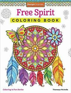 Free Spirit Coloring Book By Thaneeya McArdle 2015 Paperback