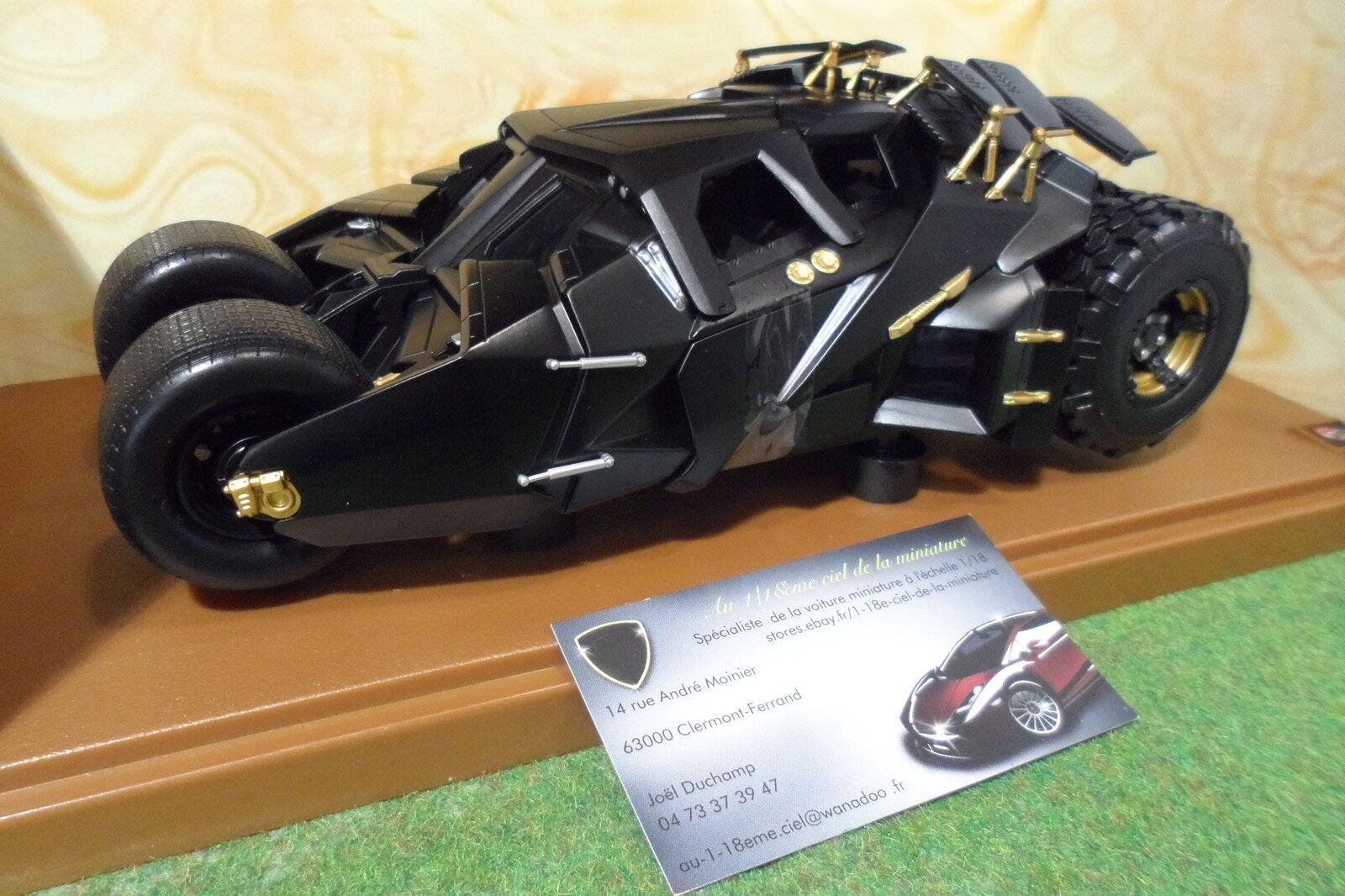 BATMOBILE BATMAN noir au 1 18 d HOT WHEELS G9931 voiture miniature de collection