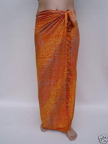 sa104 NEW SARONG BEACH WRAP SKIRT sarongs swimwear