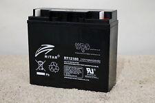 Ritar RT12180 - 12 Volt 18 Amp Hour / 12v 18Ah Battery