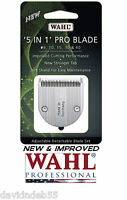 New&improved Wahl Pro 5in1 Fine Blade For Figura,bravura,arco Se,chromado,pet