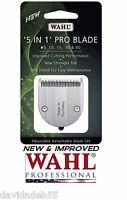 New&improved Wahl Fine Pro 5in1 Blade Bellissima,motion,,chromado,li+ Trimmer