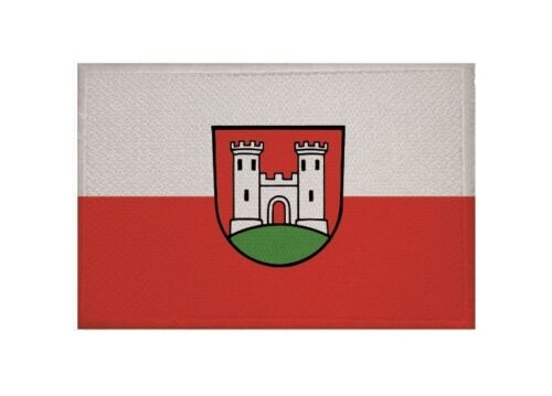 Ricamate che bandiera bandiera aufbügler Patch 9 x 6 cm