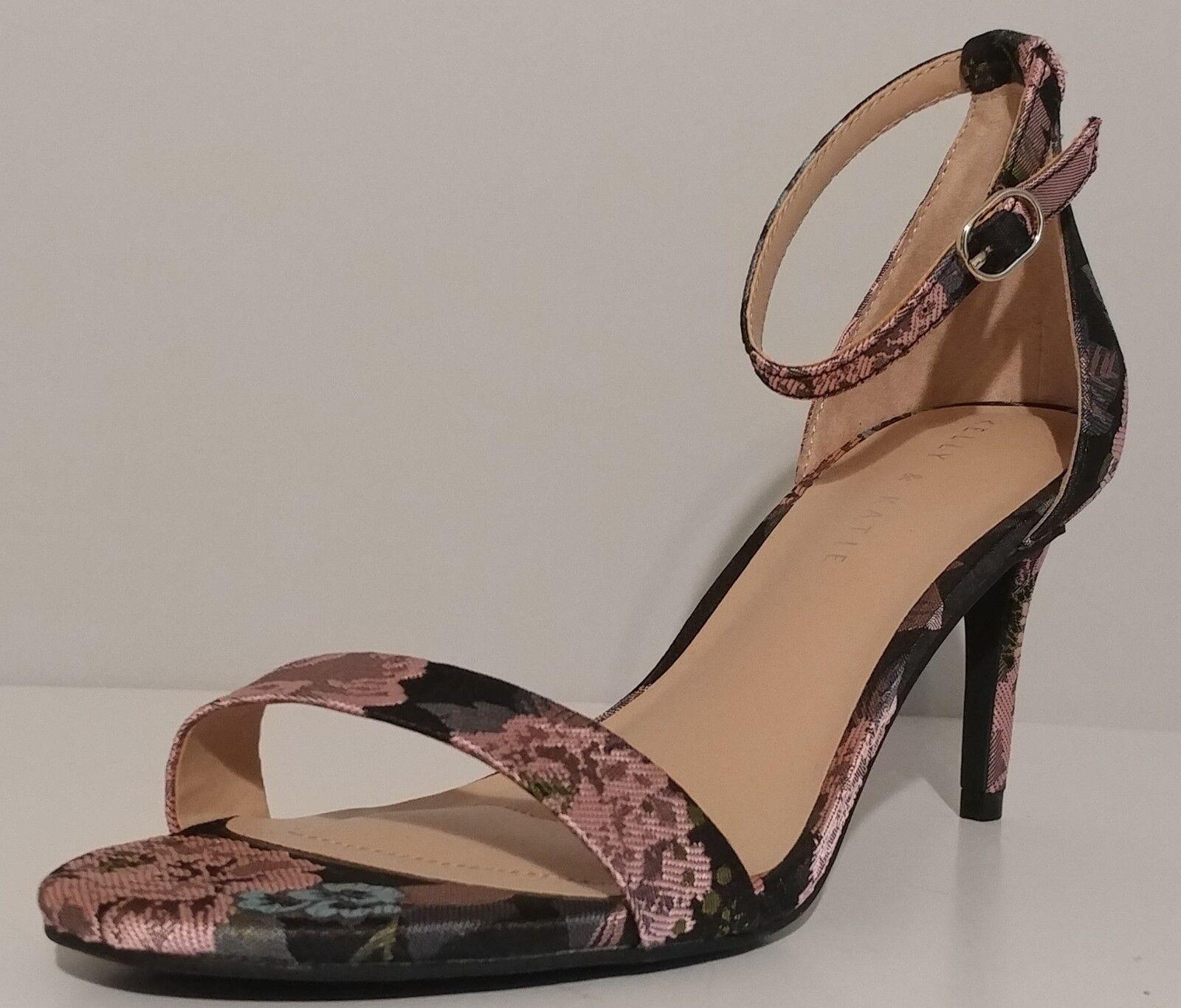 NEW   Kelly & Katie Pink Satin Kirstie Kirstie Kirstie Sandals 3  Heels Size 8M US 38M EU e8b7ee