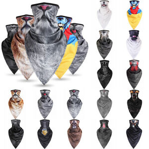 Animal Warmer Face Mask Shield Neck Tube Motorcycle Scarf  Wrap Paintball Party