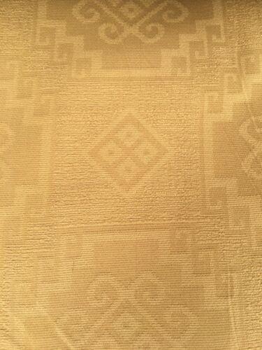 No.137 140 CM Tela De Tapicería Oro con patrón tradicional//material