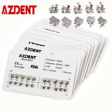 10packs Azdent Dental Orthodontic Brackets Mini Roth 0022 Hooks 345 Ultrathin