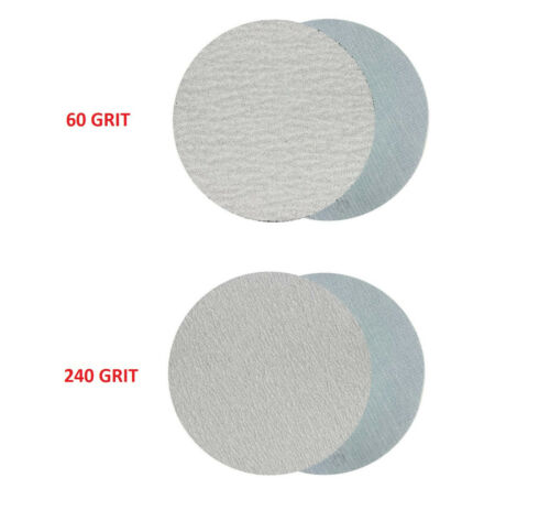 30pcs 3 Inch 60,240,600,1000,5000,10000 grit Wet//Dry Hook and Loop Sanding Discs