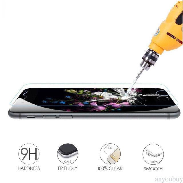 3 PACK Protector Pantalla Cristal Templado Vidrio para Apple Iphone 8 X 7 6 Plus