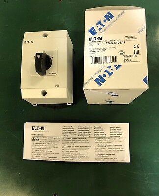 Eaton//Moeller un-de-interrupteur du boîtier t0-2-1//i1