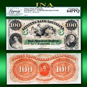 Louisiana-New-Orleans-Citizens-Bank-100-LEGACY-Very-Choice-Unc-64
