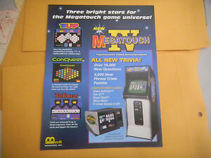 IV-4-MEGATOUCH-MERIT-ARCADE-GAME-FLYER