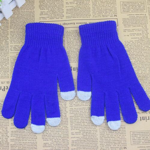 Winter Autumn Gloves Men Women Touch Screen Texting Cap Active Smart Phone Knit